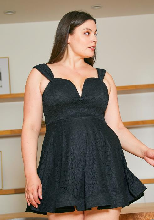 Asoph Plus Size Girls Night Out Party Dress