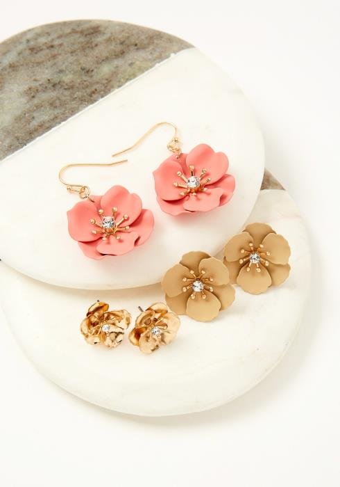 Inwood Flower Earring Set