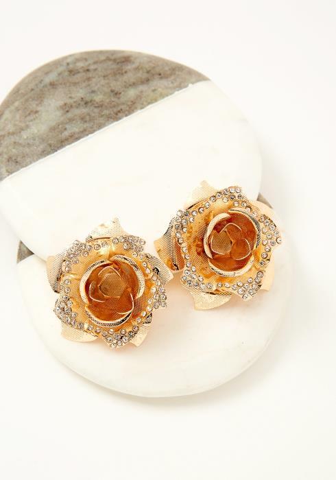 Ilion Flower Stud Earrings