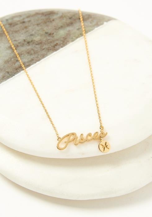 Pisces Dainty Zodiac Necklace