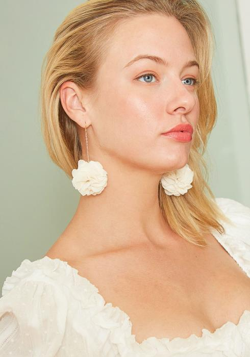 Be in Blossom Rosebud Drop Earrings