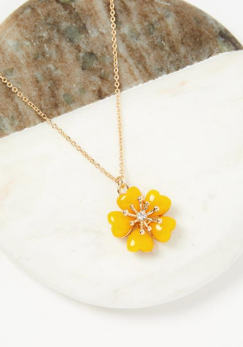 Dainty Floral Necklace
