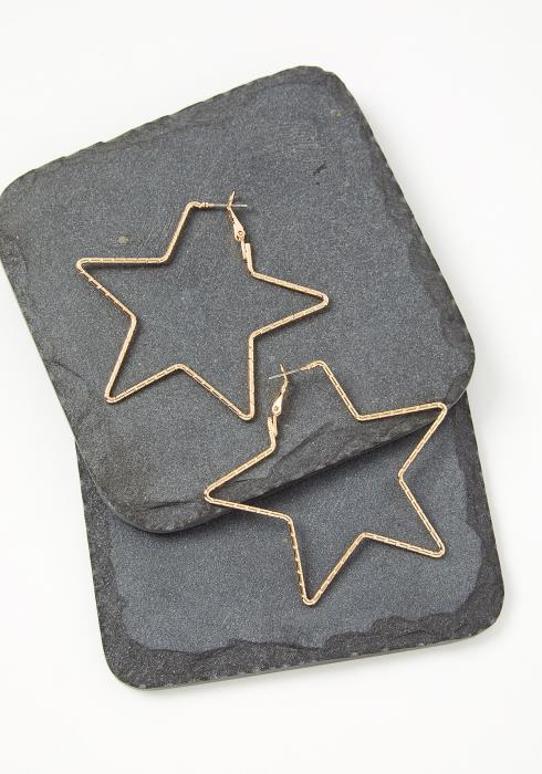 Vega Star Shaped Earrings