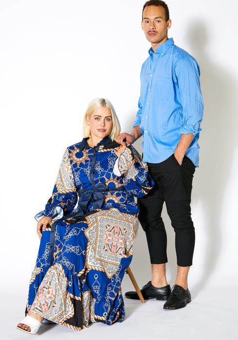 Asoph Plus Size Royal Party Womens Maxi Dress