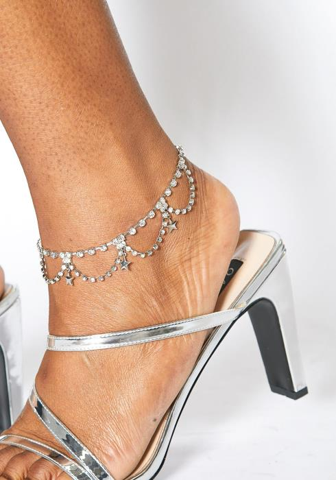 Plus Size Customized Star Chandelier Anklet