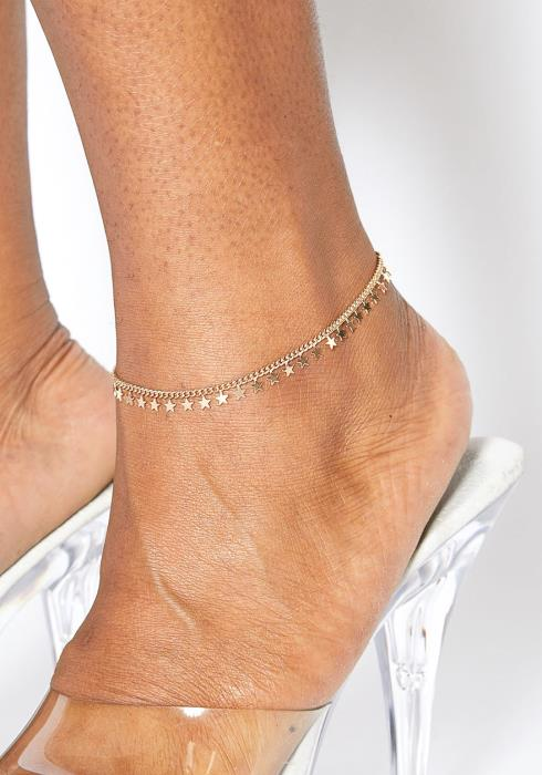 Plus Size Customized Starry Night Anklet