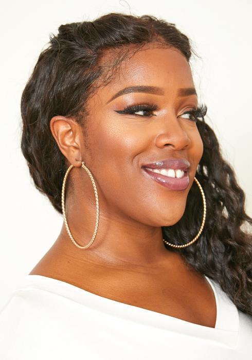 Miami Twist Hoop Earrings