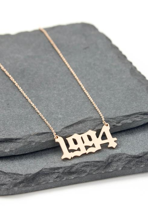 Gold 1994 Year Necklace