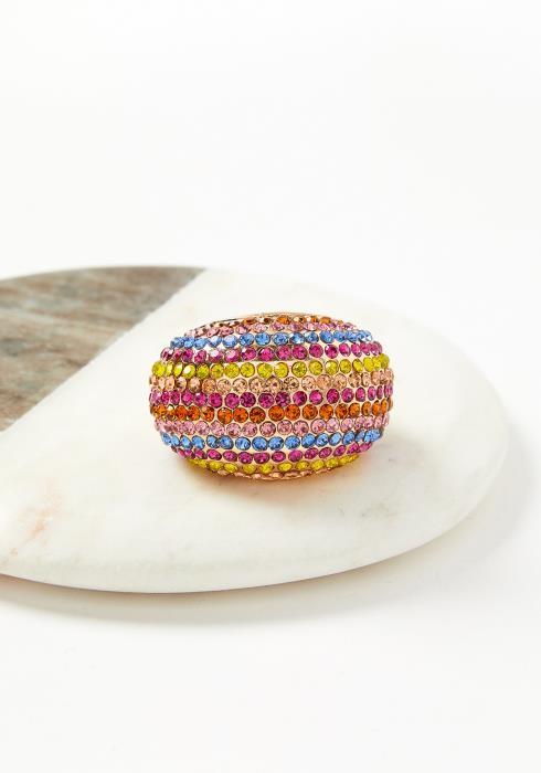 Quinn Multi Stone Plus Size Ring