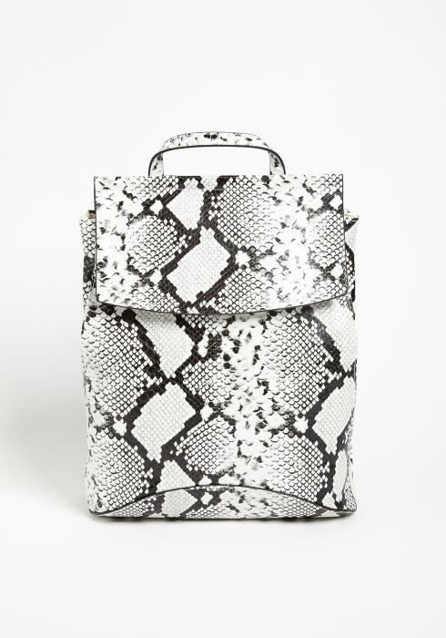 Asoph Wild Snakeskin Backpack