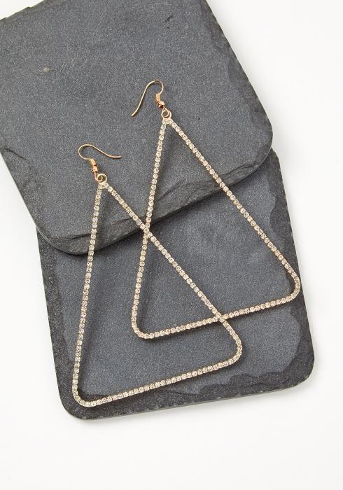 Orwell Triangle Cubic Earrings