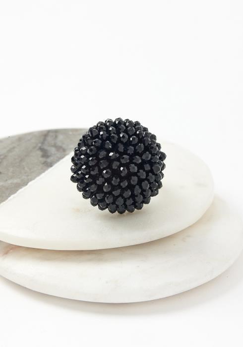 Black Dahlia Elastic Ring