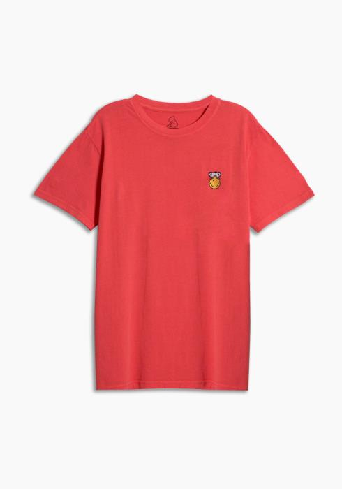 SMILEY x KUWALLA RED IN TEE