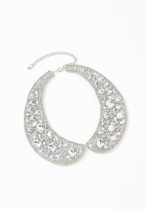 Asoph London Diamond Collar Choker Necklace