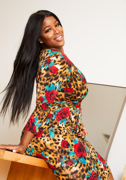 Asoph Plus Size The Wild Side Of Me Dress