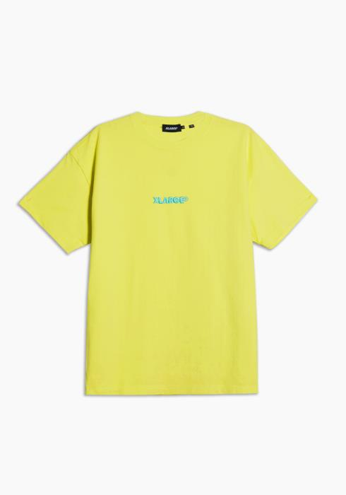 XLARGE- S/S Tee Embroidery Standard Logo