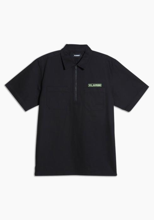 XLARGE - Half Zip Work Shirt
