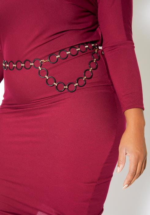 Asoph Vantablack O Ring Waistlet Belt