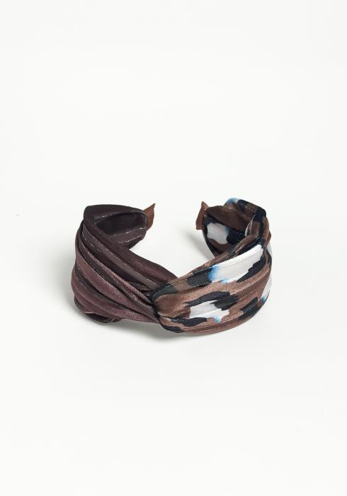 Asoph Shimmer Hinted Bora Headband