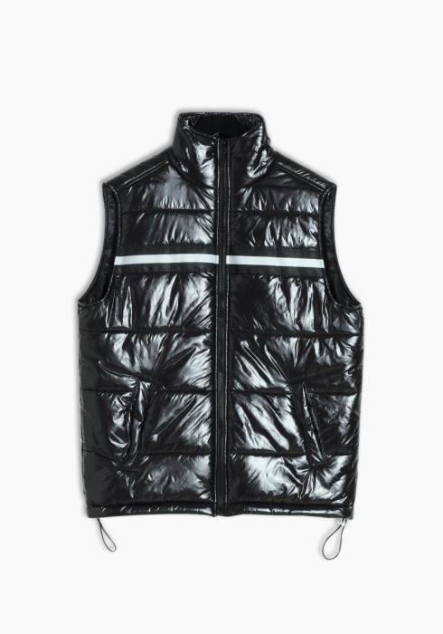 Mens Zip-up Puffer Vest