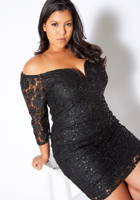 Asoph Plus Size Unforgettable Date Night Dress