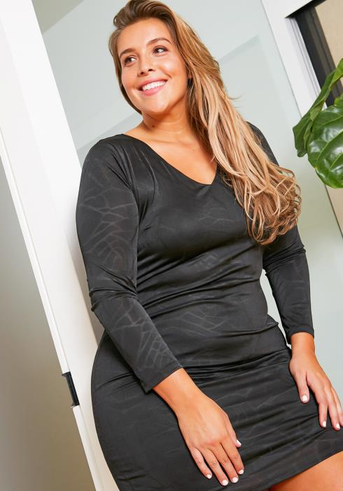 Asoph Plus Size Essential LBD Dress