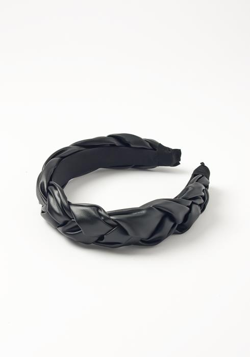 Asoph Faux Leather Braid Headband