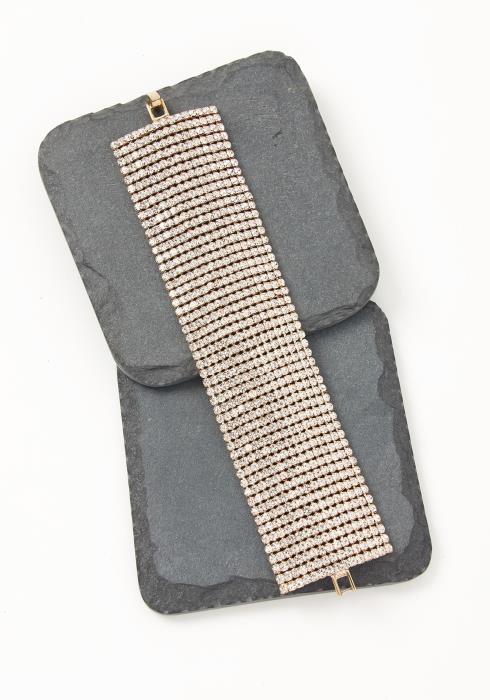 Asoph Adoring Wide Rhinestone Bracelet