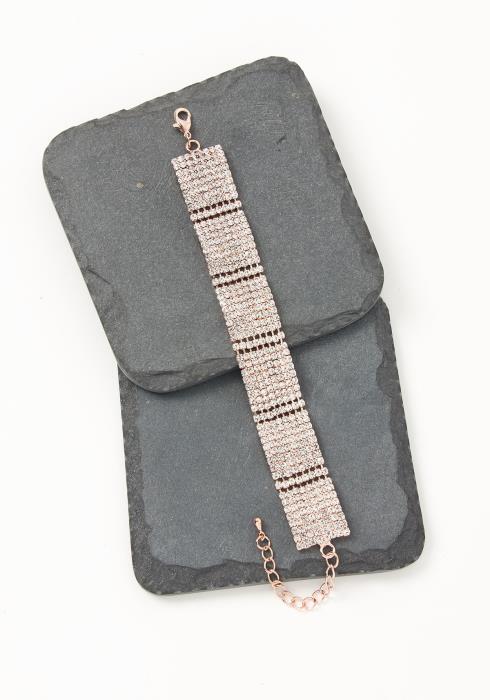 Asoph Kavala Rose Golden Sparkle Bracelet