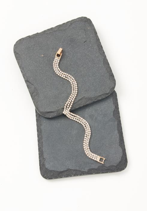 Asoph Portland Pinched Diamond Bracelet