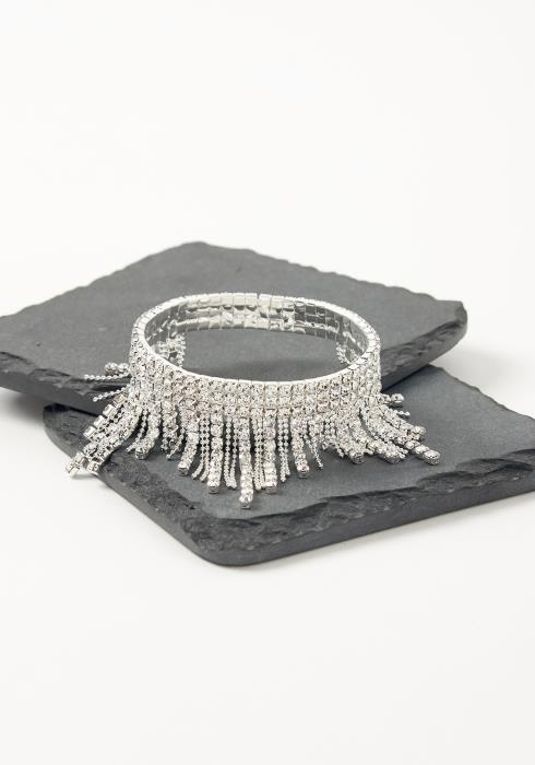 Asoph Thiva Diamond Fringe End Bracelet