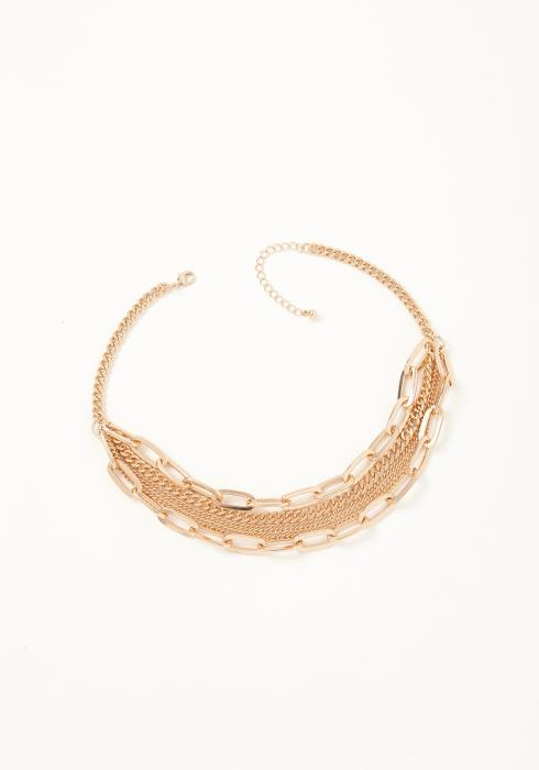 Asoph Santana Gold Chain Layered Necklace