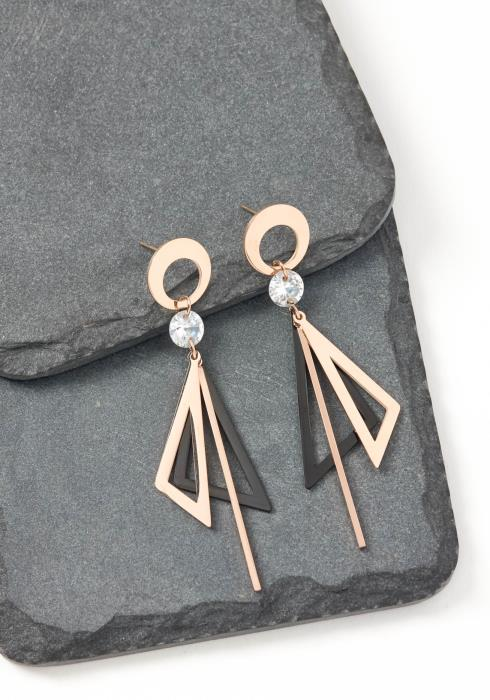 Popstar Origami Drop Earrings