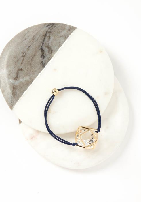 Odyssey Caged Crystal Hair Tie