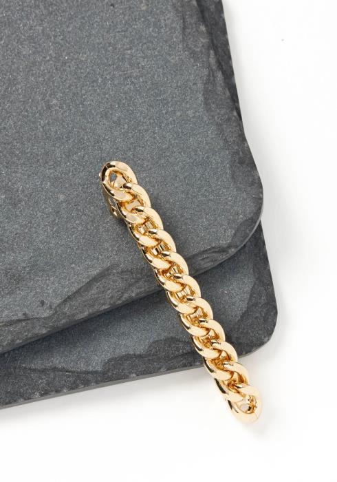 Bryn Gold Chain Hair Clip