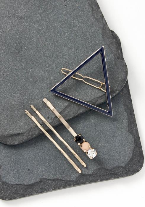 Jude Triangle Bobby Pin Set