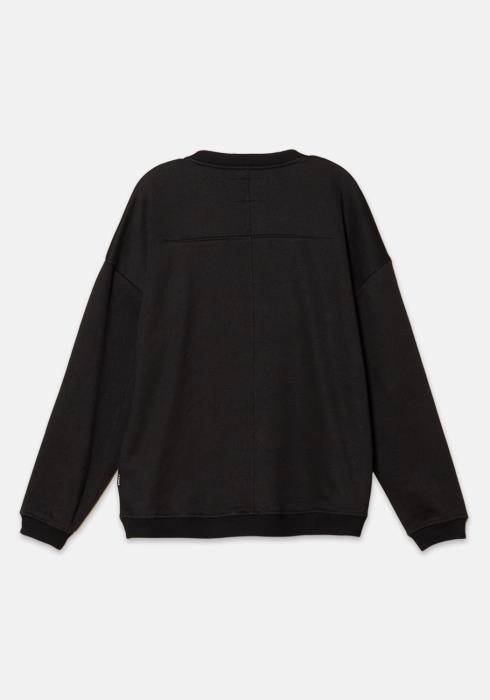 Konus Sweatshirt with Zipper Chest Pocket with Nylon Tape