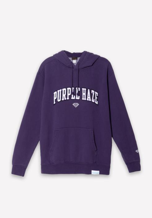 Diamond x Camron Purple Haze Hoodie in Purple