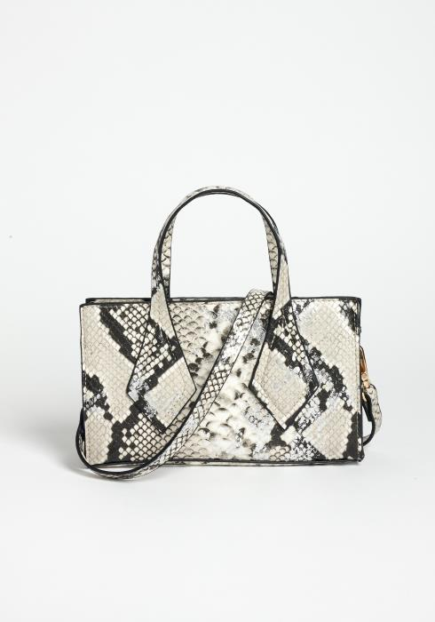 Wild For The Night Mini Snakeskin Crossbody Purse