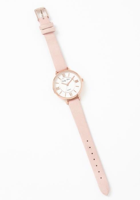 Minimal Rose Gold Fashion Watch