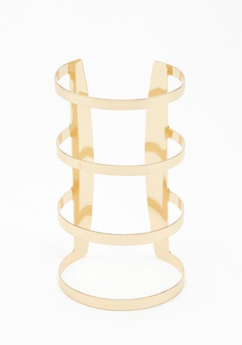 Nova Gold Cuff Bracelet