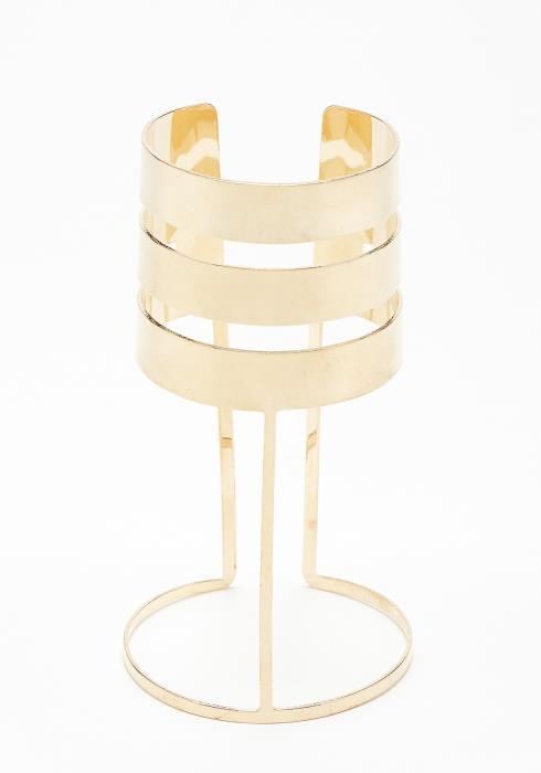 Olivia Golden Cuff Bracelet