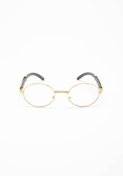 Spectacle Clear Round Lense Sunglasses