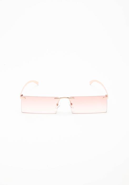 High Class Rimless Square Lense Sunglasses
