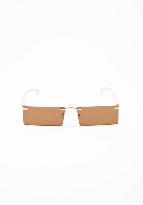 High Class Rimless Square Lense Sunglasses