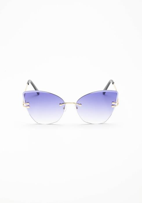 Attention Grabber Cat Eye Sunglasses