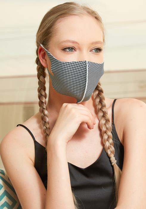 Checkered Washable Daily Mask (3 pcs)