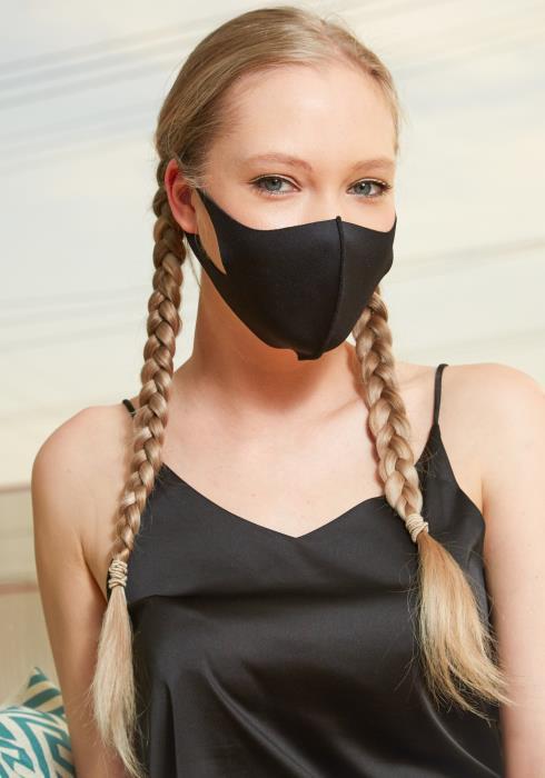 Plain Reusable 3D Fashion Mask (3 pcs)
