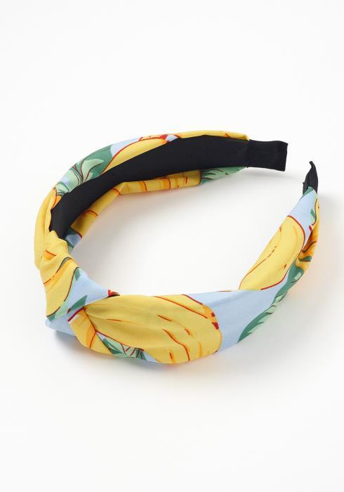 Ailani Banana Leaf Print Headband