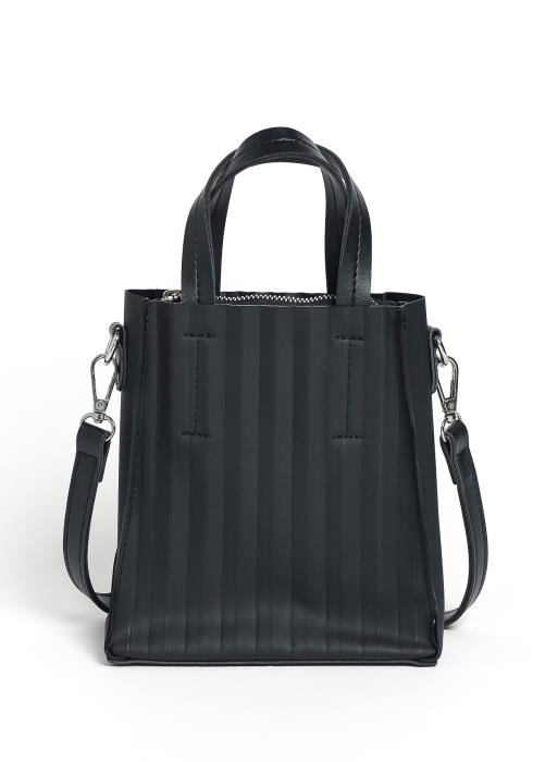 Mia Gradient Striped Tall Crossbody Purse